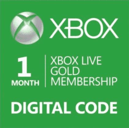Xbox Live Gold Membership 1-Month