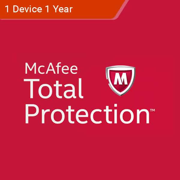 McAfee Total Protection 2018 - 1 PC - 1 Year