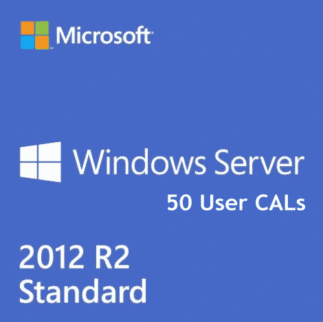 Windows Server 2012 r2 RDS 50 User CALs