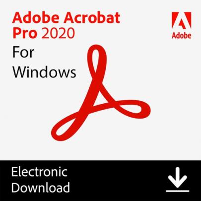 Adobe Acrobat 2020 for Windows