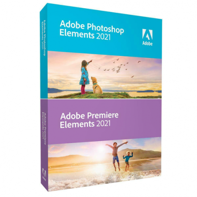 Adobe Photoshop Elements 2021 and Adobe Premiere Elements 2021 For Windows or Mac
